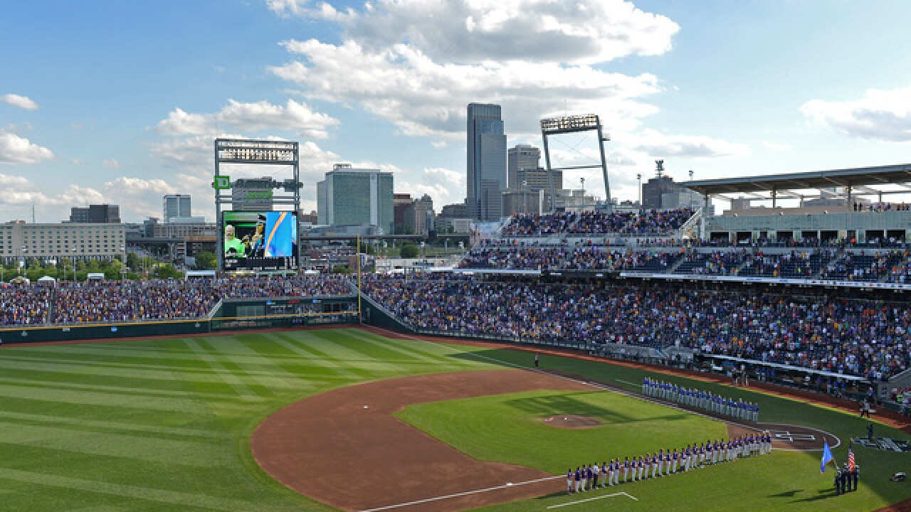 College World Series food information 2018