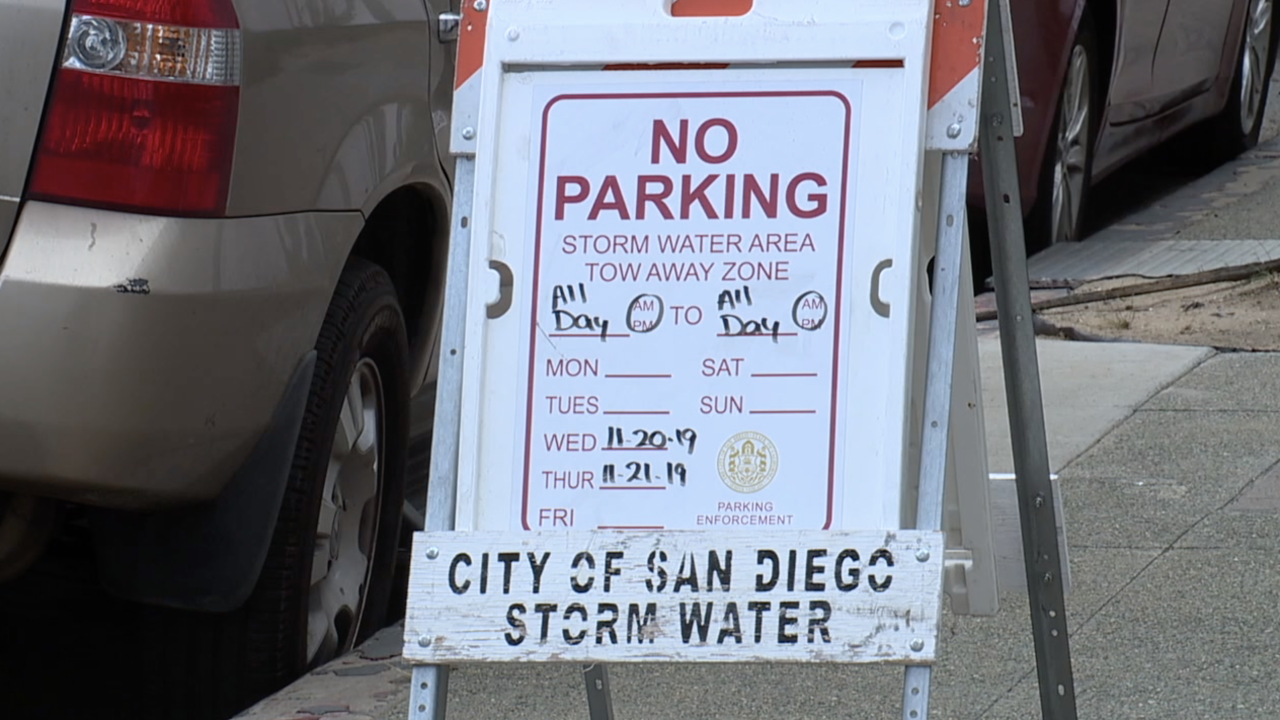 storm parking water