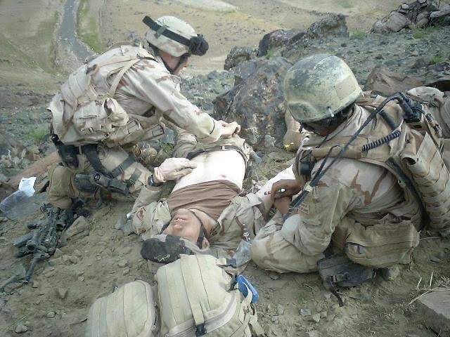 May 3 2005_SF medic, Tyler, unit medic after he was wounded.jpeg