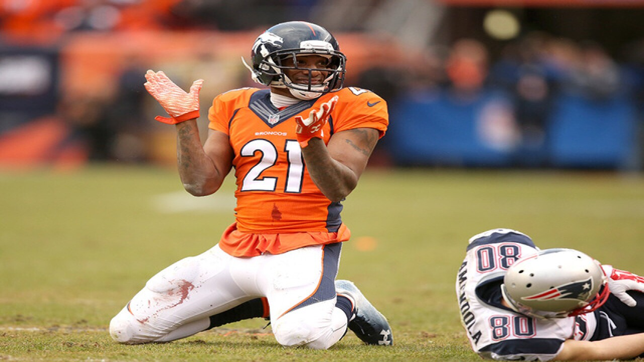 Report: Aqib Talib shot overnight in Dallas