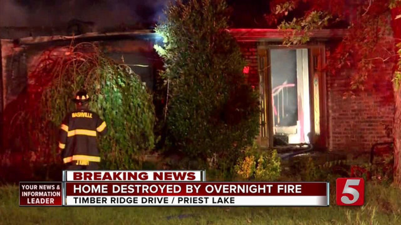 Firefighter Injured While Battling Priest Lake House Fire