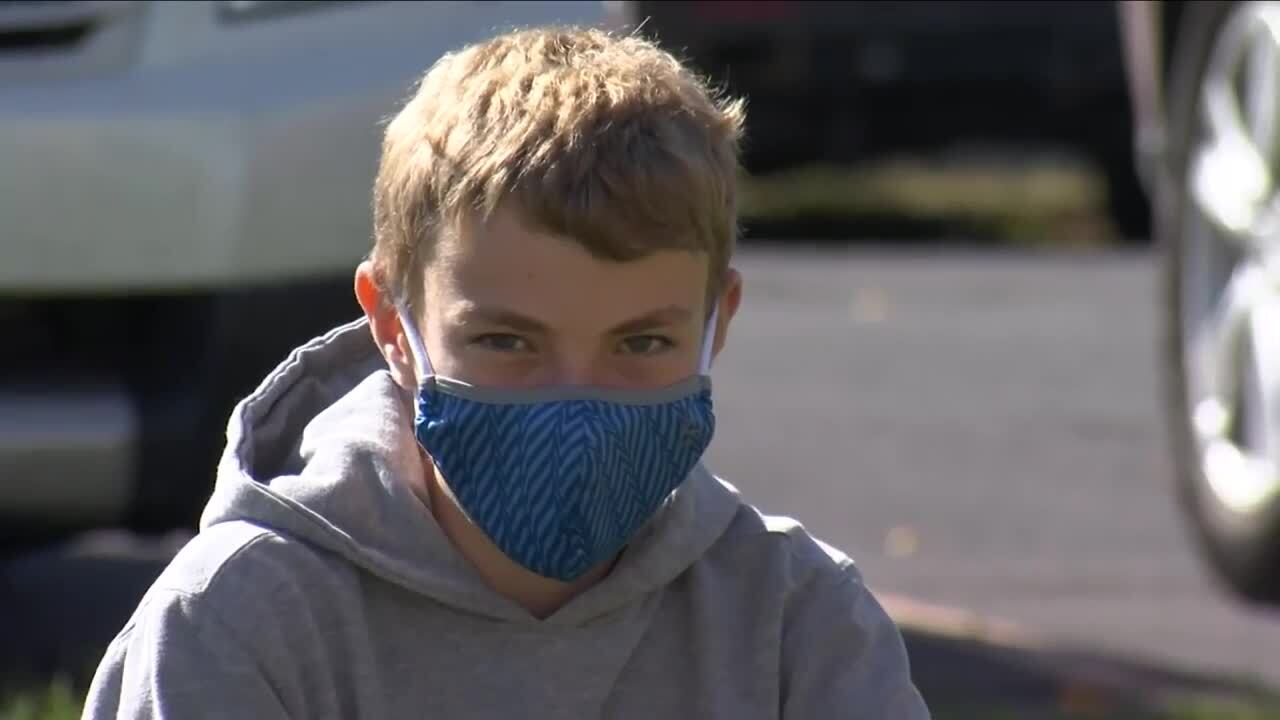 Masks turn motivators for Billings middle school students to stay in school