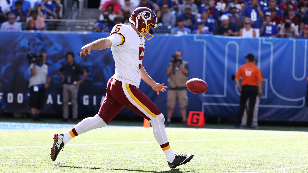 Redskins punter Tress Way, guard Brandon Scherff selected to 2020 NFL Pro Bowl