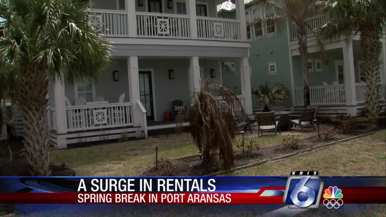 Surge in rentals