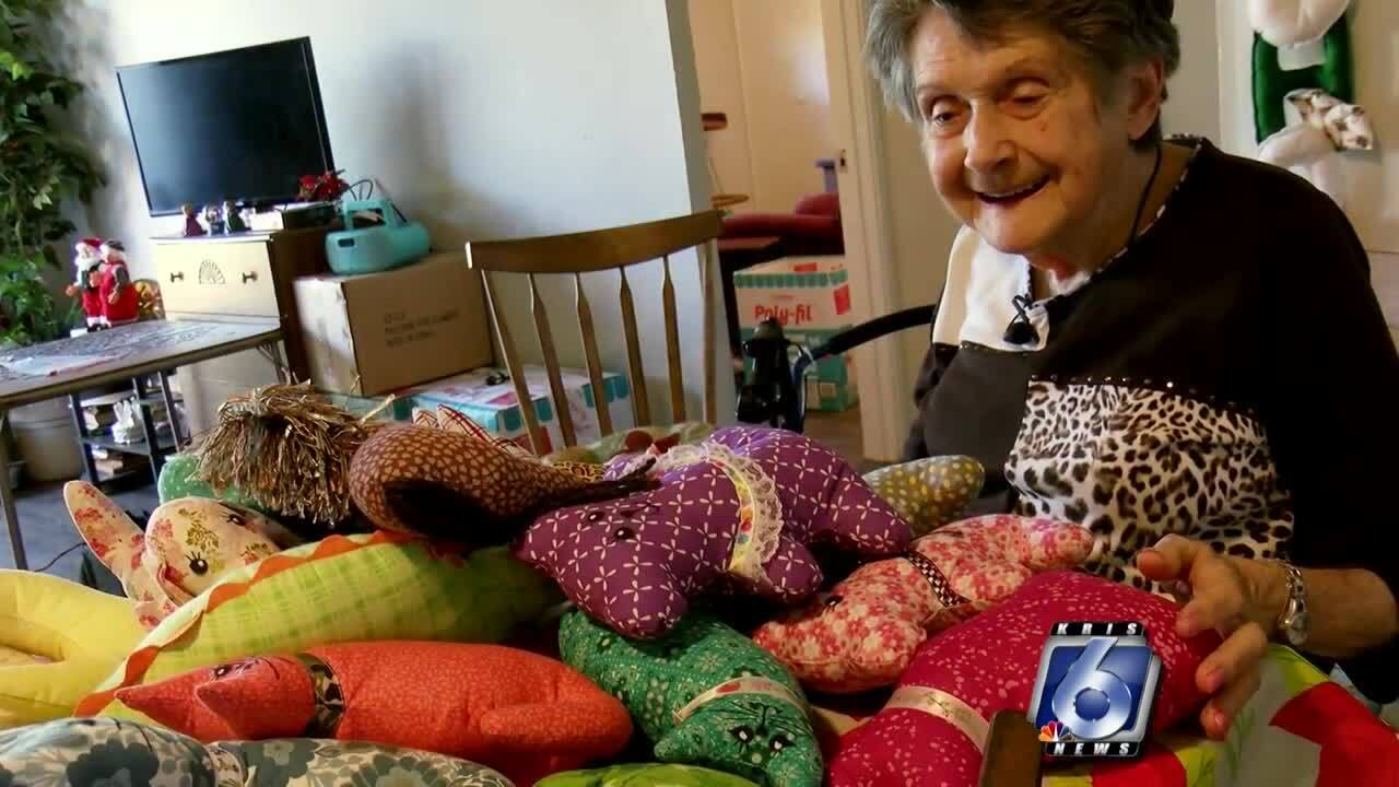 Local woman provides stuffed animals for sick kids
