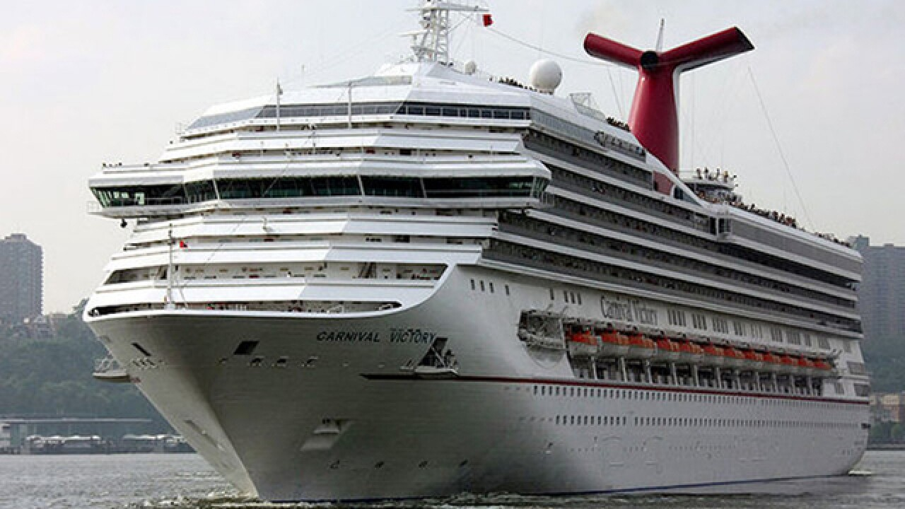 Coast Guard searching for man who fell off Carnival cruise ship