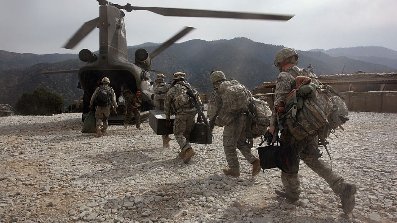 Two US troops killed on a mission in Afghanistan