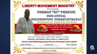 Liberty Movement Ministry Turkey giveaway