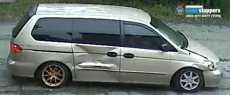 phone scam suspect van