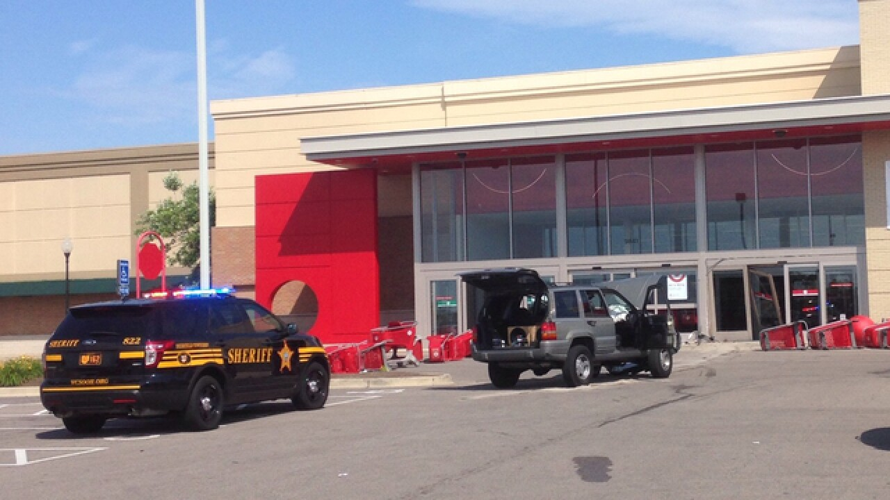 Car crashes into Deerfield Twp. Target store