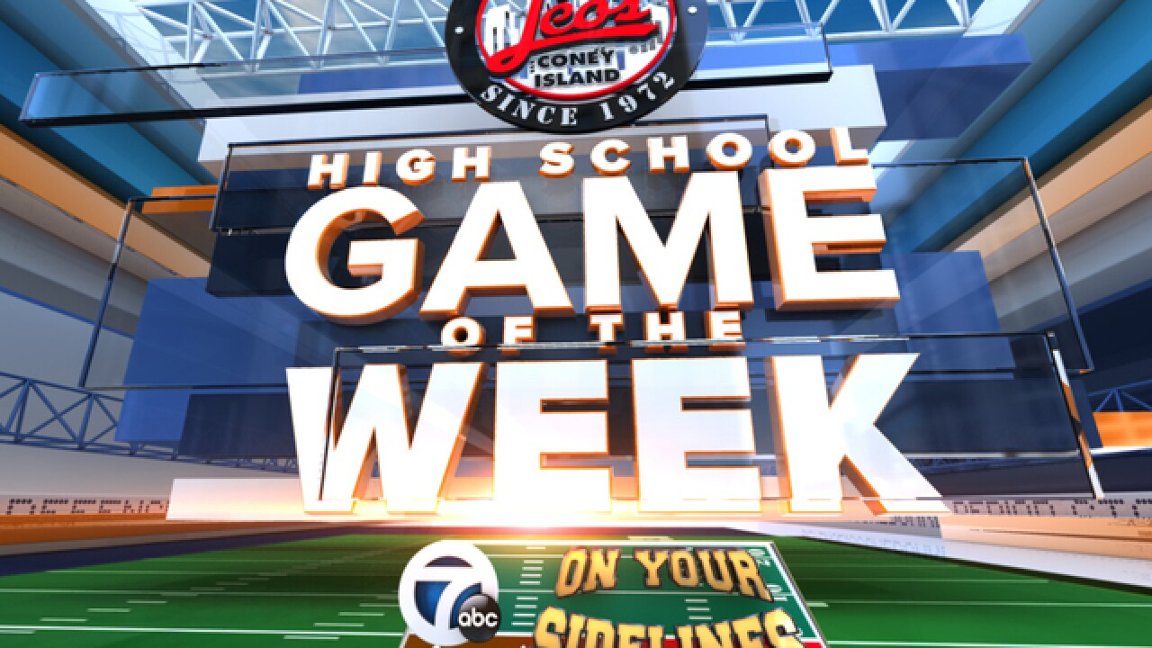 Crestwood vs. Redford Thurston is WXYZ's Leo's Coney Island High School Game of the Week