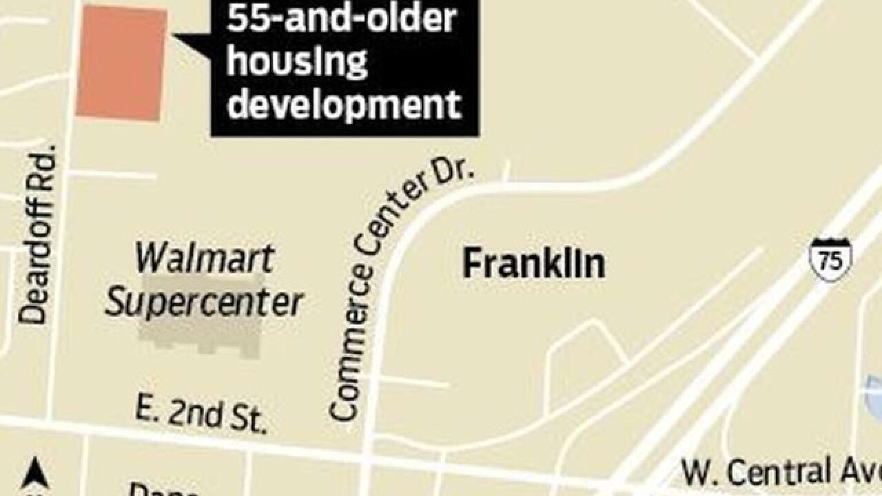 Franklin to rezone land for future senior housing community