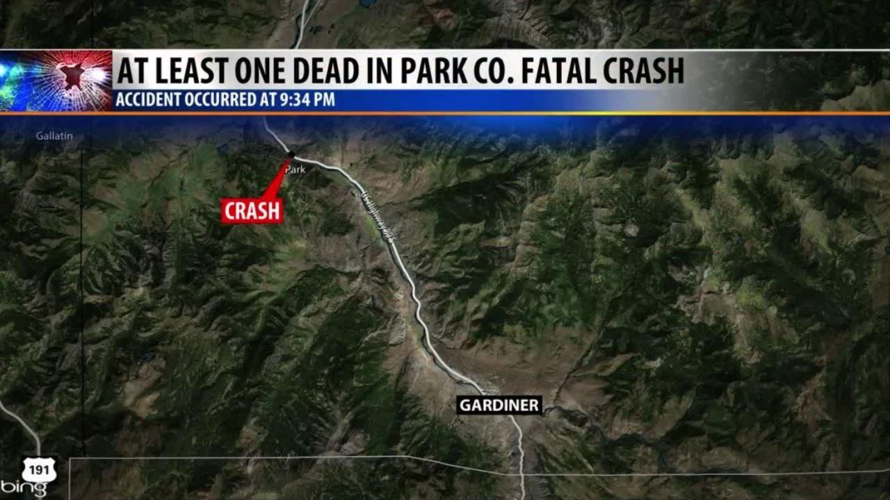 Livingston woman killed in crash north of Gardiner