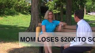 Suburban mom loses $20K to scam