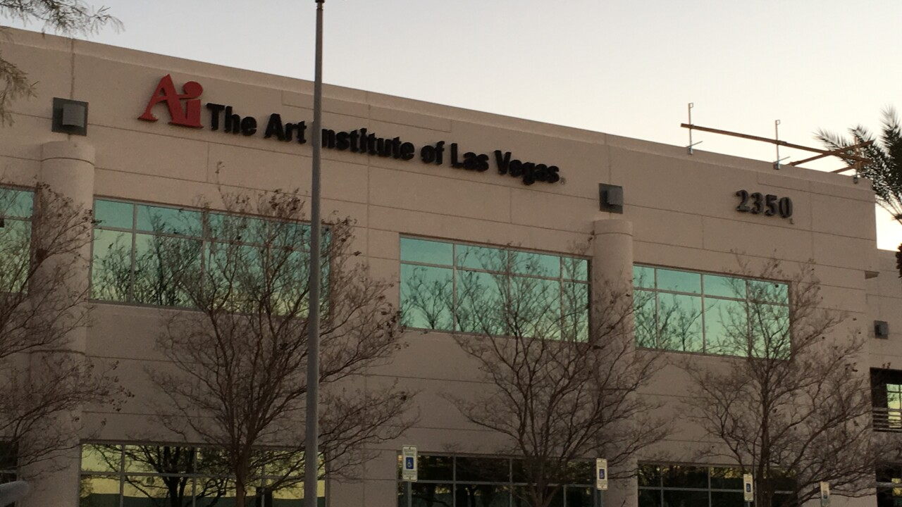 Students and parents say they have seen ominous signs that the Las Vegas Art Institute is in danger of closing down