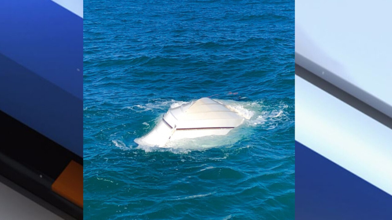 Boaters rescued from Tampa Bay