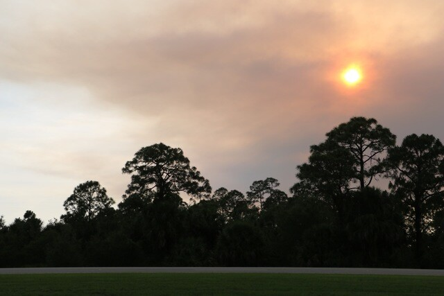 PHOTO GALLERY: Charlotte County brush fire