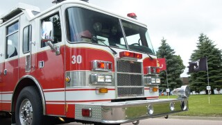 Firefighters respond to Norfolk kitchen fire