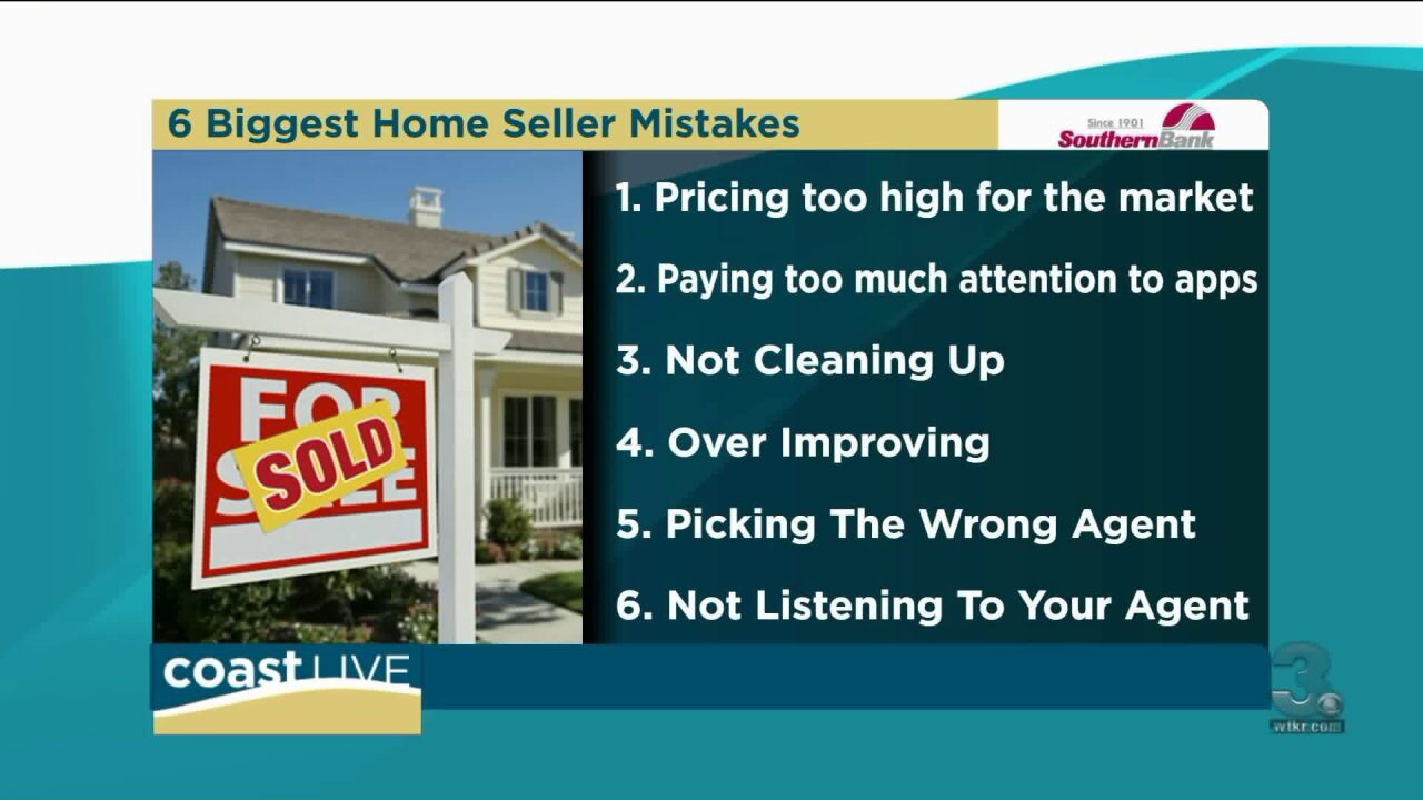 6 big mistakes that cost home sellers money on Coast Live