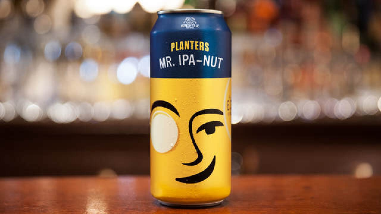 Planters unveils new beer called Mr. IPA-Nut