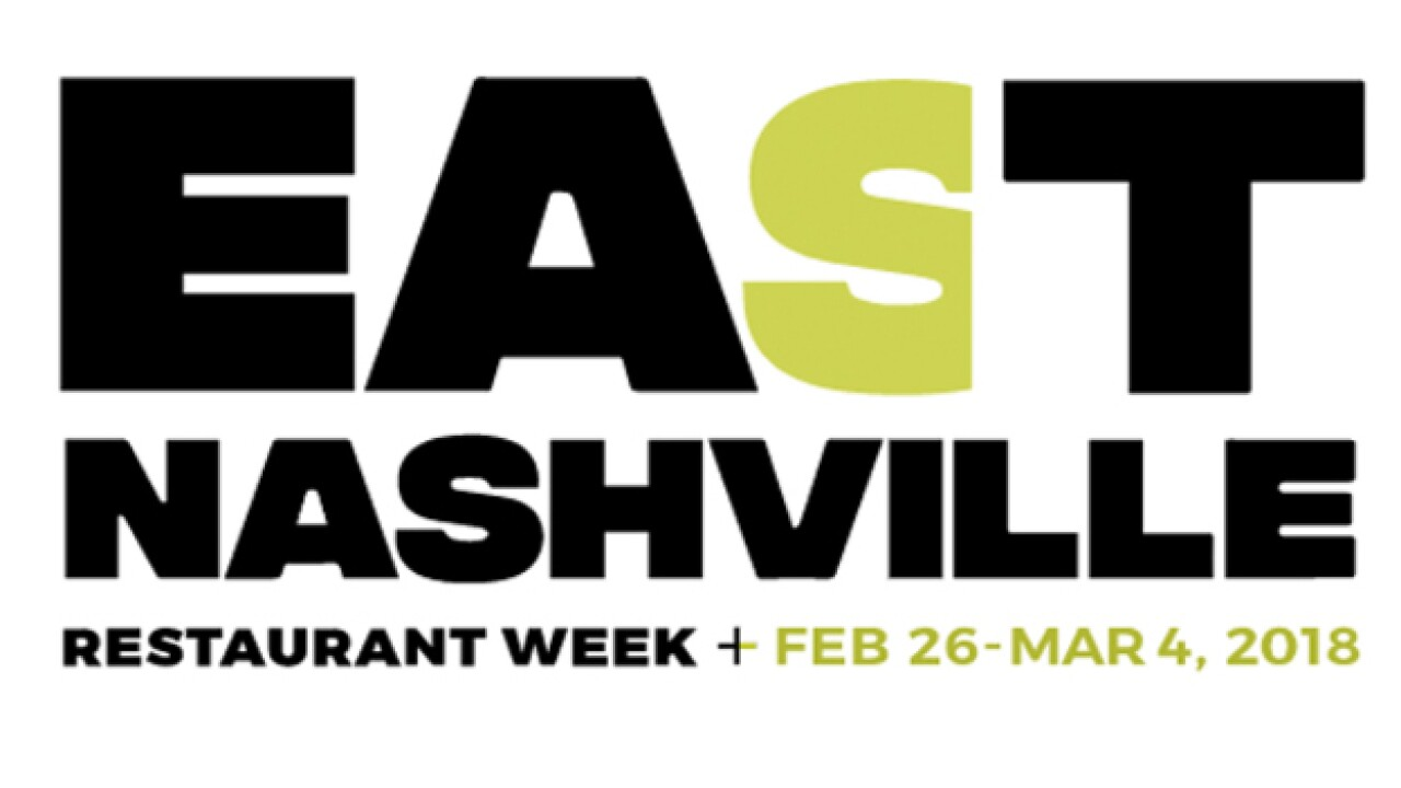 First-Ever East Nashville Restaurant Week Begins
