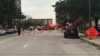Gas Leak Downtown Milwaukee