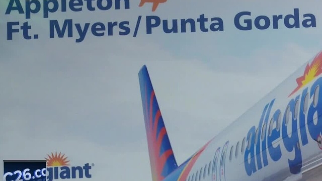 New direct flight to Florida from Appleton International Airport
