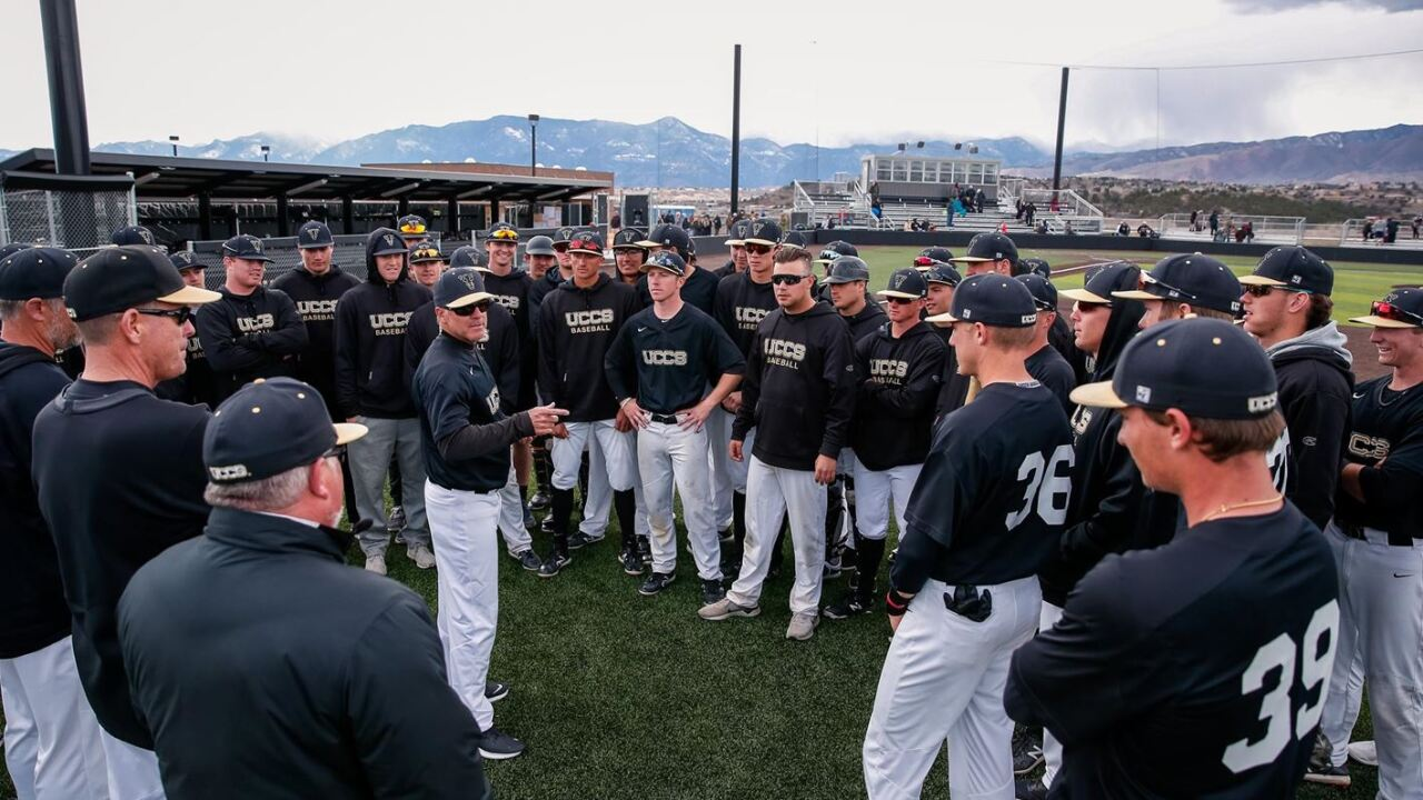 UCCS baseball picked to finish 3rd in RMAC preseason poll