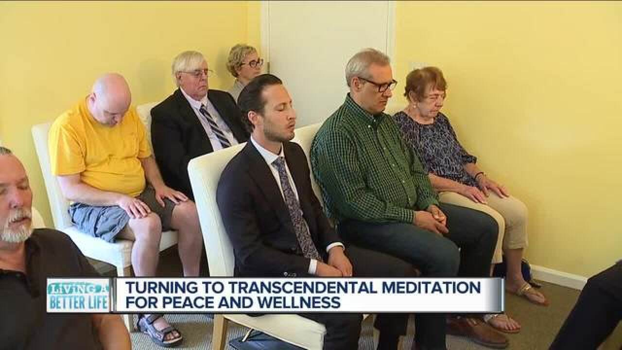 Who's turning to Transcendental Meditation?