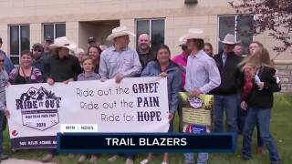 3 college students from Belt rode horses across the state to help fight cancer