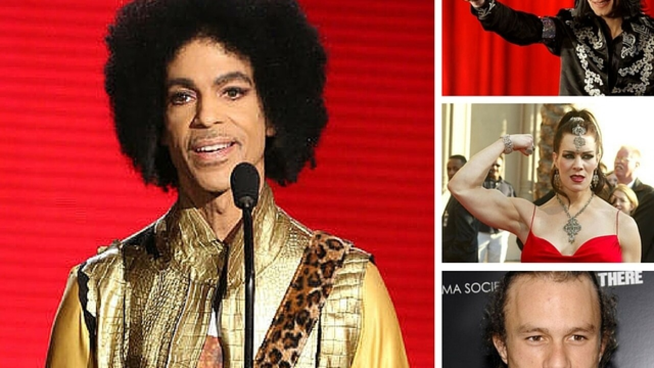 Prince latest celeb to die of overdose