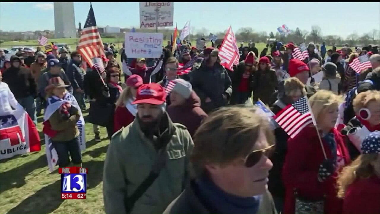 Supporters 'March 4 Trump' in citiesnationwide
