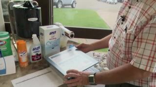"""""""Dennis the Disinfector"""" helps educate people and businesses"""