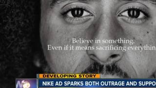 Nike ad sparks both outrage and support