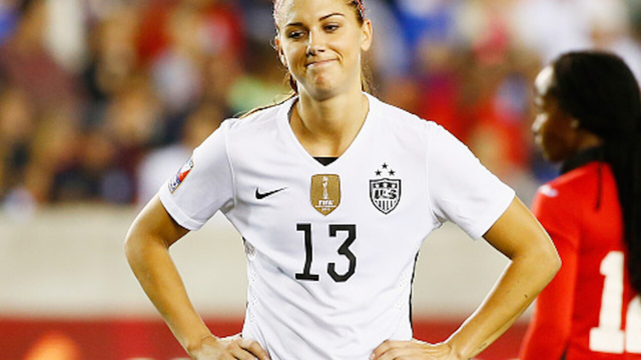 Alex Morgan apologizes after being kicked out of Disney World for 'belligerent' behavior
