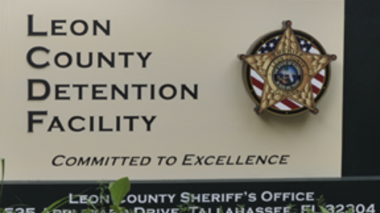 Leon County Detention Facility (sign)