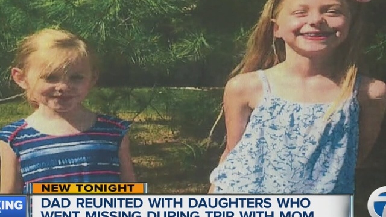 Northville dad reunited with missing daughters