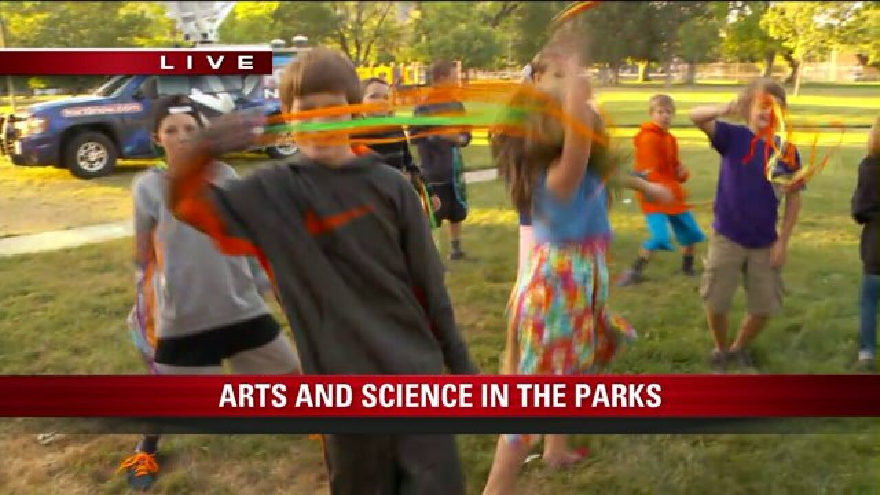 Arts and Science in the Parks preview