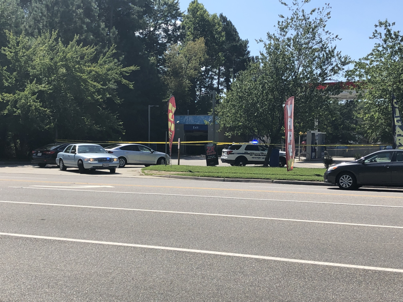 Photos: Suspect in custody after man killed in Newport News shooting