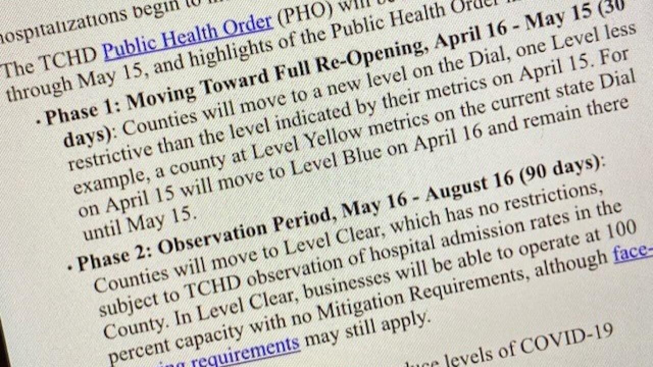 Tri-County Two Phase Plan