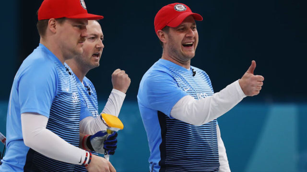USA Curling clinches medal with win over Canada