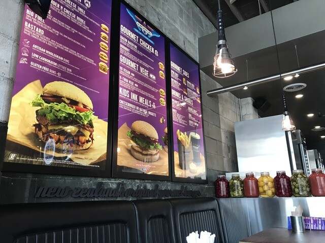 PHOTOS: A look inside Burger Fuel
