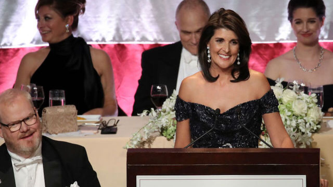 Haley jokes at fundraiser: 'You wanted an Indian woman, but Elizabeth Warren failed her DNA test'