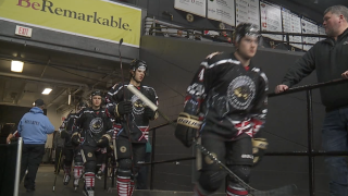 The Muskegon Lumberjacks ready to take the ice this winter