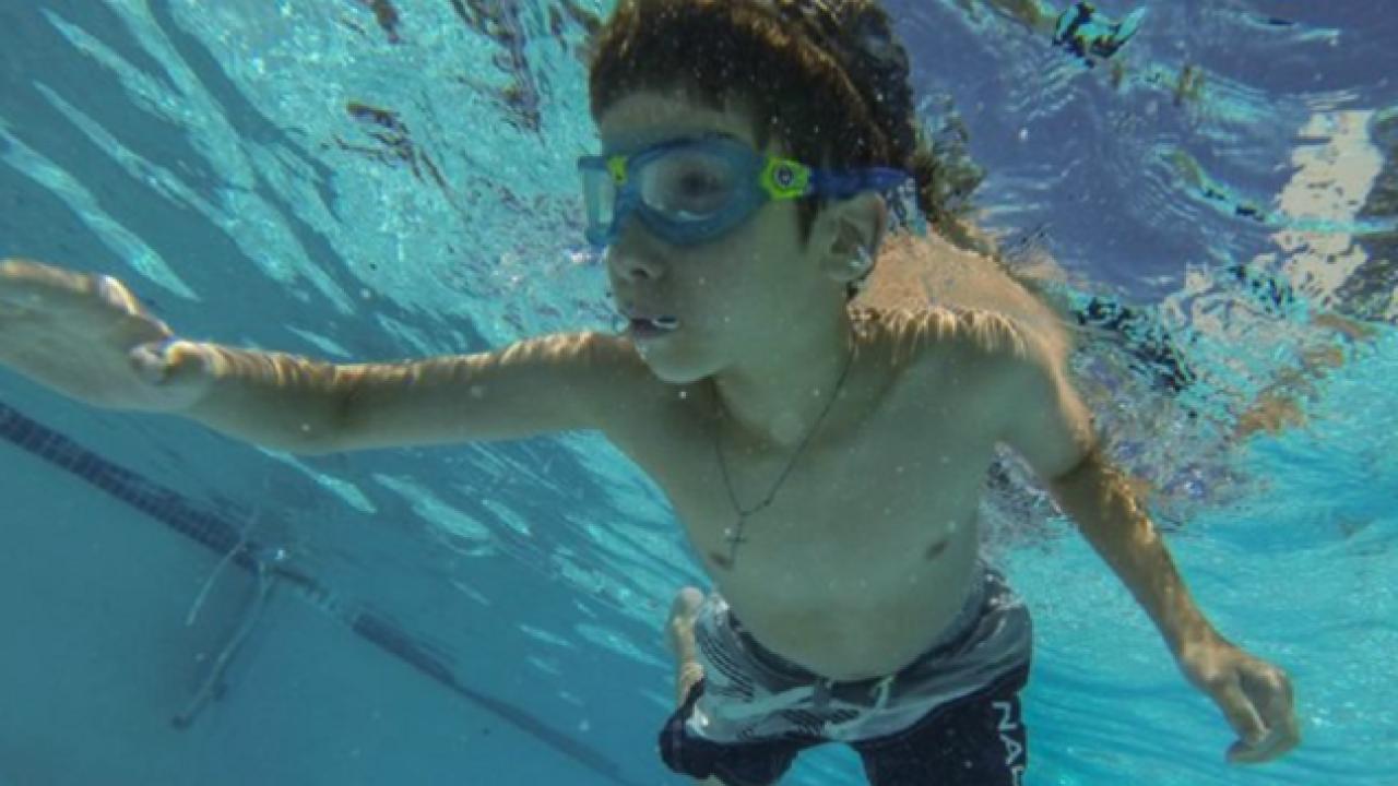 child-swimming
