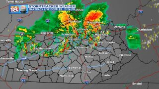 Severe Threat Lowers, Storms Continue