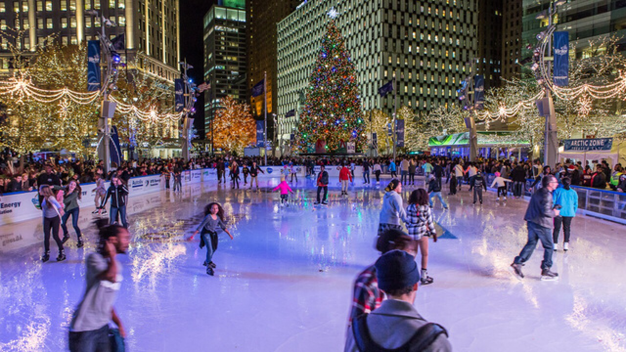 Your guide to ice skating at Campus Martius Park