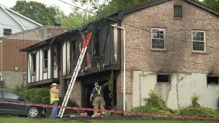 Fort Wright house fire lightning strike