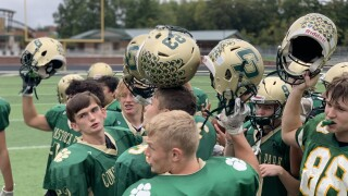 Comstock Park football team to honor local heroes