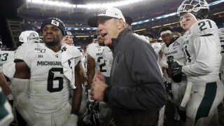Check out Michigan State's bowl history after the Pinstripe Bowl win